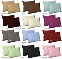 100%  Egyptian Cotton Sateen Best Quality T300 Pair of Pillowcase Size 50x75 cm