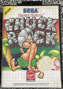 SEGA Master System - Chuck Rock - Complete - VGC - Free UK PP