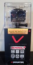 Monster Digital Action Sports Camera 1080p+ Resolution HD Video Wifi Control NEW