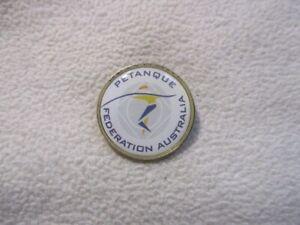 Australia Petanque Federation pin/badge