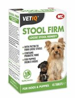 VetIQ Stool Firm For Dogs & Puppies 45 Tabs - For Loose Stools , Hardener