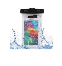 "FUNDA IMPERMEABLE SUMERGIBLE PARA MOVIL WATERPROOF UNIVERSAL HASTA 6"" BRAZALETE"