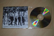 Indecent Obsession - Fixing a broken heart. CD-Single promo (CP1704)