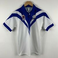 Canterbury Bulldogs Kids NRL Jersey Youth Size 10 Made In Australia