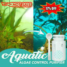 CrystalClear Algae Repellent Agent Tank Moss Remover Aquarium Algaecide + Spoon