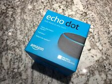 BRAND NEW : Amazon Echo Dot 3rd Generation : Alexa Voice Media Device | Charcoal