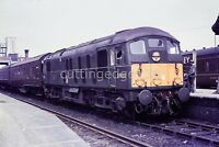 Original BR Railway Slide: Class 24 D5000 at Bletchley 1960s
