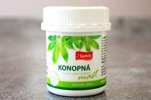 Apotheke Hemp Pain Relief Cream Balm Ointment 134ml. Arthritis Stiffness Muscle