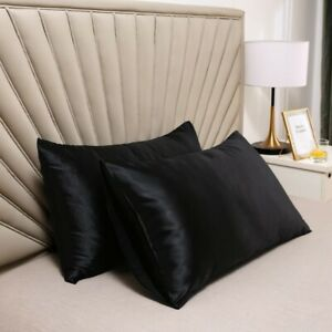 Mulberry Silk Pillow Case Slip Protector Silky Double Sides Cool 25 Momme Cover