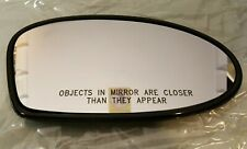 OEM GM 02 Pontiac Grand Am Door Side View Mirror Glass Right RH 88892808 *NEW*