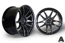 """Autostar A510 19"""" x 9.5"""" / 10.5"""" et22 alloys Nissan 350Z fit Concave JDM 5x114.3"""