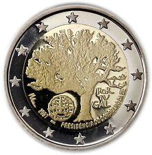 Portugal 2 Euro 2007 PP Präsidentschaft der EU Polierte Platte in CoinCard