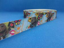 1 metre length of Little Big Planet design Cake/Hair/craft ribbon @ MrsMario's