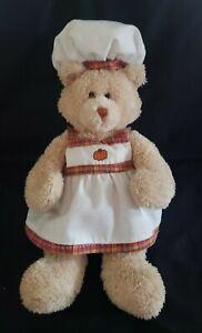 """Gund Pumpkin Chip Muffin Recipe Bear, #88653, No recipe, 13"""""""