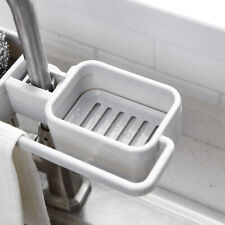Home Kitchen Sink Faucet Sponge Soap Storage Organizer Drain Rack Holder Shelf