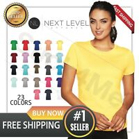 NEW NEXT BLANK Ladies' Ideal Crew CASUAL avery day T-Shirt Sport Shirt NL1510