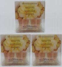 6 Bath & Body Works WARM VANILLA SUGAR Wallflower Pack Oil Bulb Refills