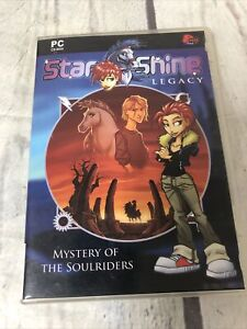 Star Shine Legacy: Mystery Of The Soulriders (PC, CD-ROM)