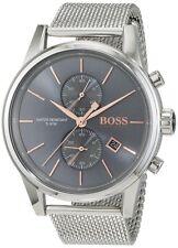 Hugo Boss Herrenuhr, 1513440, Silber