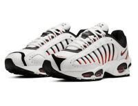 Nike Air Max Tailwind 4 Shoes AQ2567-104 White Black Habanero Red Variety Sz