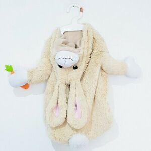 Easter Bunny Rabbit Dog Costume Size Small Medium outfit dogs dress up clothing