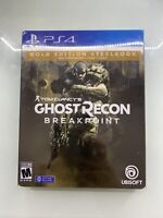 Sony PS4 Tom Clancy's Ghost Recon Breakpoint - Gold Edition Steelbook Game+Case