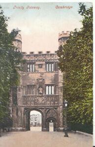 Cambridgeshire Postcard - Trinity Gateway - Cambridge - Ref TZ5858
