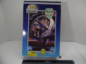 "Police Helicopter Pilot 21st Century Americas Finest 1/6 Figure 12"" Doll GI Joe"