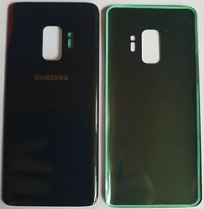 Samsung Galaxy S9 Schwarz Akkudeckel Backcover Rückseite  Midnight Black