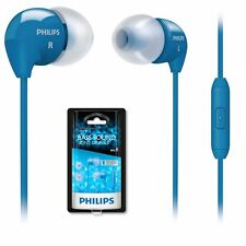 Philips SHE3595BL In-Ear Headset Earset For Smartphone SHE3595 Blue /GENUINE