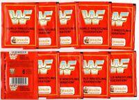 1992 Merlin WWF 10 Packets 60 Stickers World Wrestling Federation