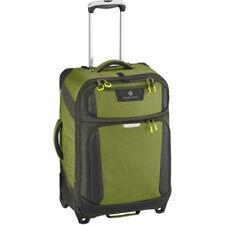 Maletas y equipaje verde con 2 ruedas