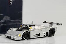 1989 Sauber Mercedes C9 #63 Winner 24h Le Mans Mass Dickens Reuter 1:18 Norev