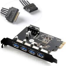 ORICO PME-4U 4 Port PCI Express to USB3.0 Host Controller Card for Mac/Windows