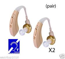 1 Pair  Digital Hearing Aids  EZ-221T  Full digital FDA Approved  Easyuslife®