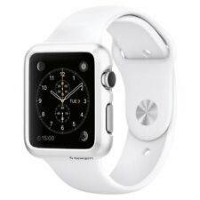 Spigen Apple Watch Series 3 / 1 Case (38mm) Slim Armor Case - Satin Silver