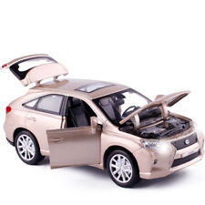 LEXUS RX450 SUV 1:32 Model Cars Toys Sound&Light Alloy Diecast Gifts Champagne