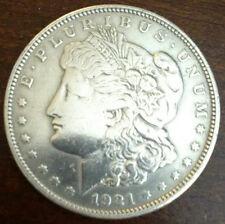 1921 P Morgan Silver Dollar #19