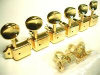 Kluson Vintage Double Line Mechaniken 6 links gold