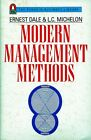 Ernest Dale e L. Michelon = MODERN MANAGEMENT METHODS