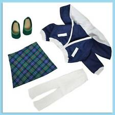 """Jacket, Skirt, Tights and Shoes fits 18"""" American girl dolls"""