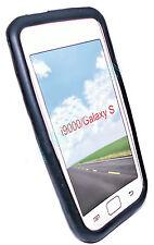Silikon TPU Handy Hülle Cover Case Schutz in Schwarz für Samsung i9000 Galaxy S