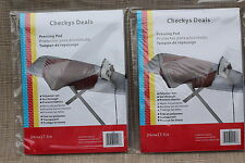 CHECKYS DEALS protective ironing pressing pad 24 x 17.5 INCHES -  2 - pack
