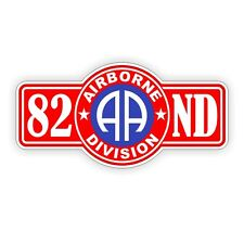 82nd Airborne Hard Hat Decal / Sticker Vinyl Car Label Army Military 101st USA