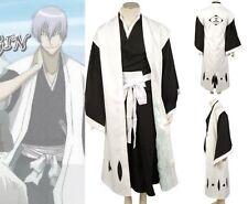 Bleach 3rd Division Captain Ichimaru Gin Cosplay Costume