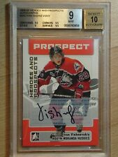 2006-07 BAP-ITG HEROES & PROSPECTS IVAN VISHNEVSKIY GRADED A 9 MINT WITH 10 AUTO