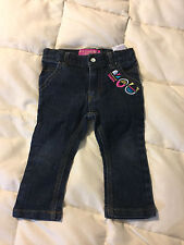YOUTH TODDLER ROCAWEAR BLUE DENIM JEANS PANTS SIZE 12M 12 MONTHS