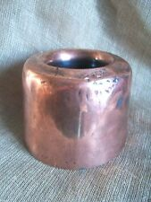 ANTIQUE VICTORIAN COPPER MOULD TIMBALE MOUSSE JELLY TERRINE MOULD