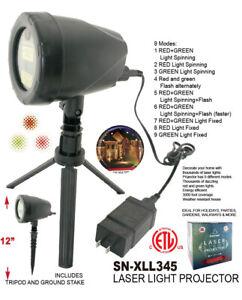 Christmas Lights Projector LED Laser Outdoor Landscape 9 Spinning Light Modes