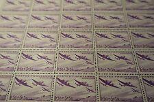 FEUILLE SHEET ŒUVRES DE L'AIR AVIATION N°540 x25 1942 NEUF ** LUXE MNH